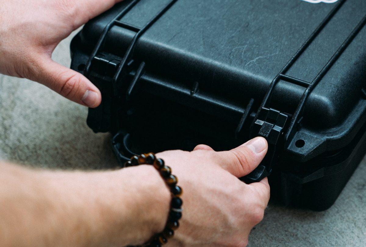 montering av vibrationsmätare